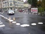 Für viele Verkehrsteilnehmer sind die Vorrangregeln an der Lindenkreuzung nicht immer ganz klar.