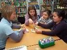 In der Stadtbücherei fand ein Workshop zum Thema Geld statt.