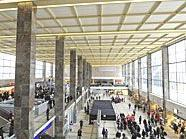 Am Westbahnhof kam es zu erheblichem Sachschaden.