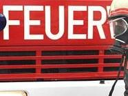 Die Feuerwehr konnte die Frau unverletzt bergen.
