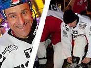 Im Vorjahr herrschte Bombenstimmung beim Charity-Eishockey vor dem Rathaus