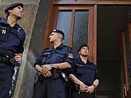 Sasa J. provozierte mit seinen Drohungen einen Großeinsatz der Polizei.