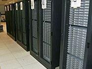 Schafft 150 Billionen Rechenoperationen pro Sekunde: Der Wiener Supercomputer.