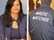 Stadträtin Ulli Sima ist stolz auf die Bilanz der Waste Watcher