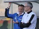 Thomas Schneider (r.) kümmert sich um die beiden Torhüter beim FC Lustenau 1907.