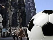 Am Stephansplatz ist am 1. April inoffizieller Ankick zur Frauen-Fußball WM.