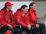 Betreuerstab vom FC Mohren Dornbirn Armand Benneker, Erwin Wawra und Lothar Ströhle hoffen auf Zuwachs.