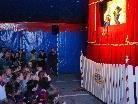 """Der """"Kasperle"""" der Familie Liebe bietet traditionelles Puppentheater vom Feinsten."""