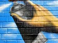 Die Wiener Jugendlichen sollen mit Graffiti Schaden angerichtet haben.