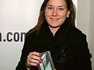 Nicole Mößlang gewann das neue IPhone4.