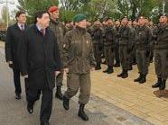 250 Rekruten wurden in Alt Erlaa angelobt.