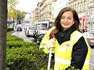 Am Frühjahrsputz der Stadt Wien wird sich auch Umweltstadträtin Ulli Sima beteiligen.