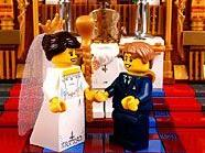 Auch als Lego-Männchen machen Kate Middleton und Prinz William eine gute Figur.
