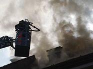 Der Brand stellte die Feuerwehrmänner vor viele Herausforderungen.
