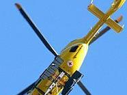 Die 44-Jährige wurde mit dem Rettungshubschrauber ins Krankenhaus gebracht.?