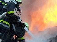 Die Feuerwehr wurde rasch Herr der Situation.