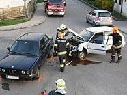 Schwerer Unfall in Steinabrückl.