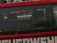 Das Unfallfahrzeug fing sofort Feuer.