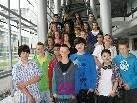 Die 3b-Klasse der VMS Haselstauden zu Besuch im Medienhaus