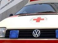 Die verletzte Lenkerin wurde von der Rettung ins Spital gebracht.