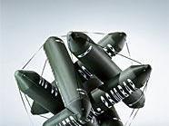 """Vor dem Museumsquartier wird auch Peter Sandbichlers Luftskulptur """"Ohne Titel"""" zu sehen sein."""