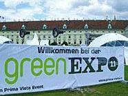 Bei der greenEXPO11 drehte sich alles um Nachhaltigkeit.