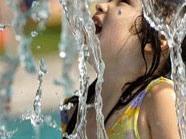 Der Wasserspielplatz in Wien eröffnet am 16. Juni.
