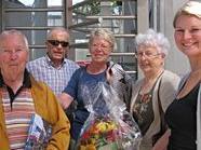Familie Irger waren Gäste Nummer 100.000 am bahnorama.