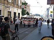 Leserreporter Erwin L. schickte uns Fotos der Demonstration gegen das Volksgruppengesetz.