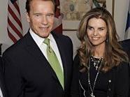 Schwarzenegger und Shriver: Es gibt scheinbar keinen Rosenkrieg.