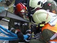 Die Feuerwehr war bis 16.30 Uhr mit Bergearbeiten beschäftigt.