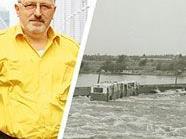 Franz Andras war beim Einsturz der Reichsbrücke 1976 live dabei.
