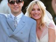 Kate Moss und ihr Mann nach Traumhochzeit auf Flitterwochen
