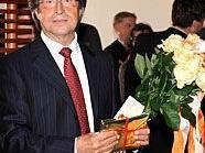 Riccardo Muti bei der Ehrung anlässlich seines 70. Geburtstages.