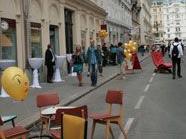 Wenig Besucher beim Kettenbrückengasse-Straßenfest