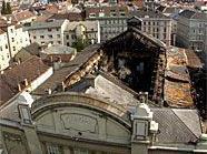 Der Brand in den Sofiensälen jährt sich nun zum zehnten Mal.
