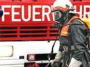 Die Feuerwehr konnte Entwarnung geben: Es war doch kein Chlorgas ausgetreten.