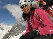 Ein Schneesturm verhindert Gerlinde Kaltenbrunners Aufstieg auf den K2
