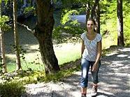 Wandern entlang des Wasserleitungswanderwegs entspannt und macht Spaß