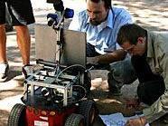 Im Türkenschanzpark sind die Roboter los.