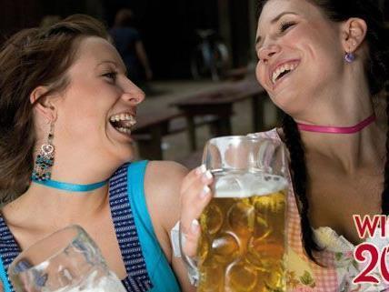 Die Veranstalter zogen eine positive Zwischenbilanz der Wiener Wiesn 2011.