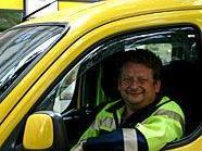 ÖAMTC-Pannenfahrer Christian Zettner befreite das eingesperrte Mädchen.