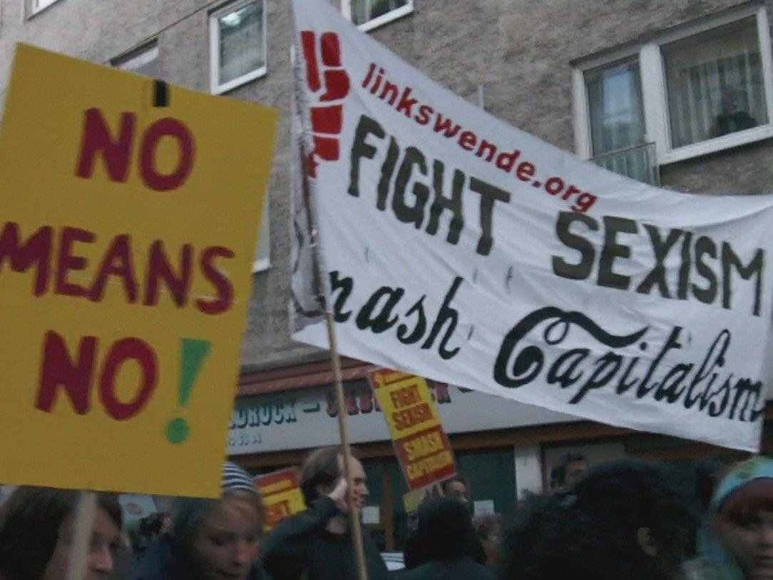 Der Slutwalk zog am Samstag durch Wien.