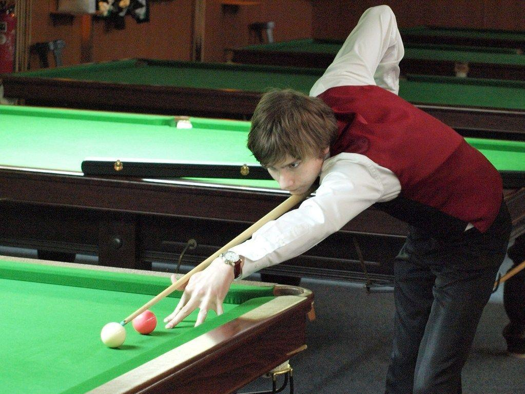 Alexander Gauss,  Heeres- Snooker und English Billiards Club