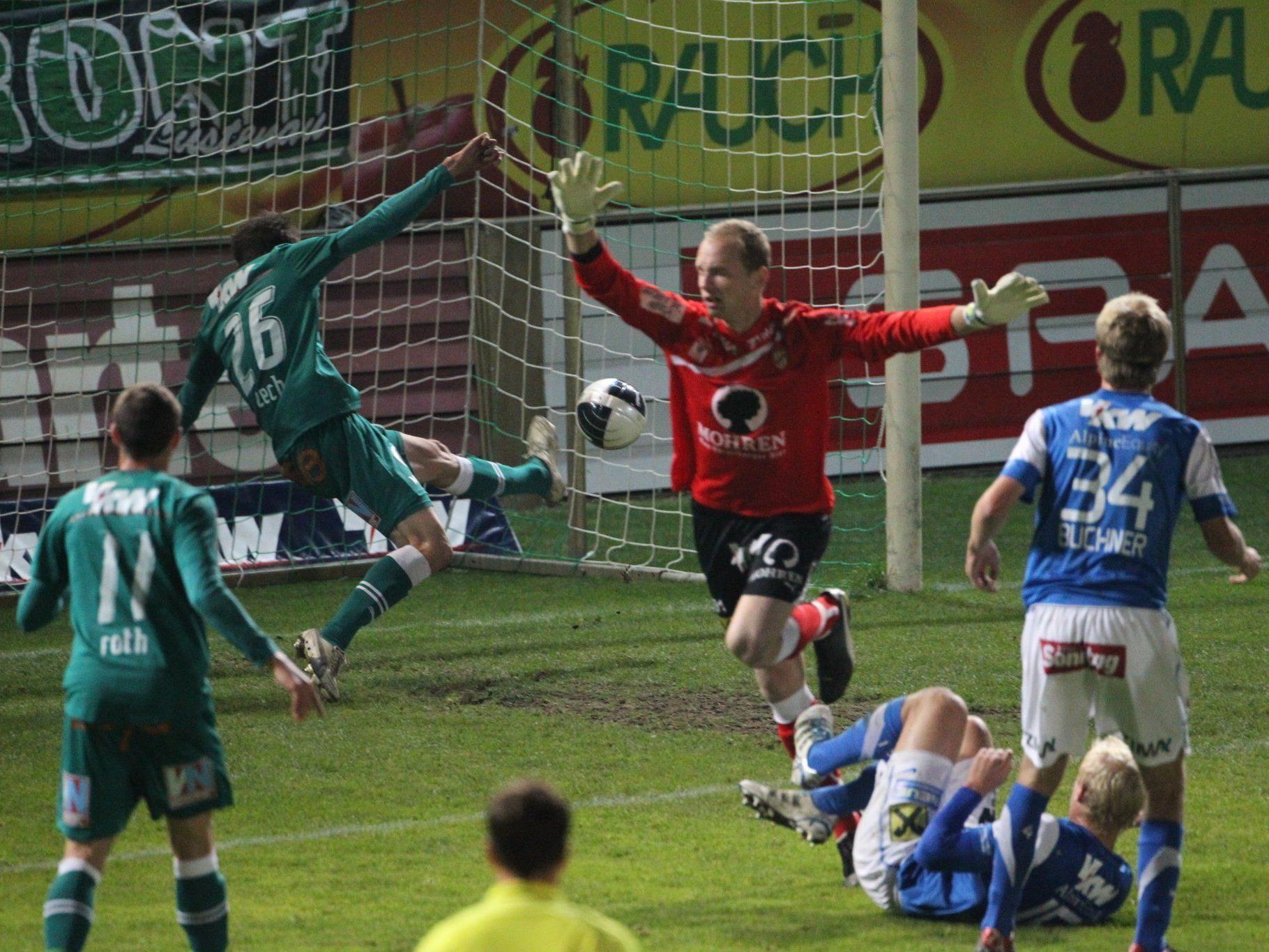 Die Austria ließ dem FC keine Chance im ÖFB-Cup Achtelfinale.