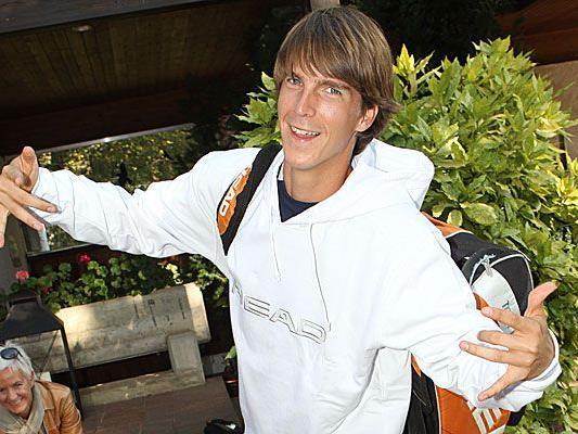 Martin Fischer trifft auf den Deutschen Daniel Brand.