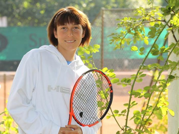 Yvonne Meusburger zeigt sich in blendender Form