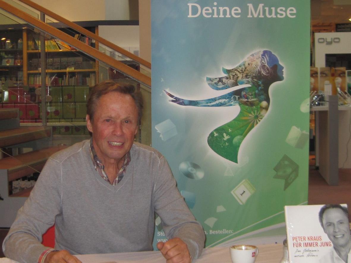 Noch immer jung, für immer jung: Peter Kraus