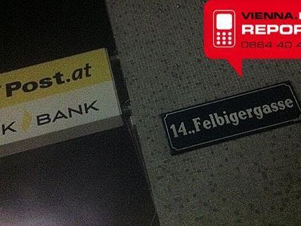 Das Postamt in Wien-Penzing wurde überfallen