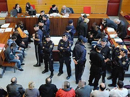 22 Personen standen als mutmaßliche Schlepper vor Gericht